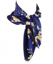 Satin Silk Scarf - 02