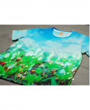 Printed Cotton T-Shirt - 4